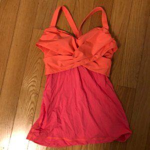 Lululemon shirt- Orange